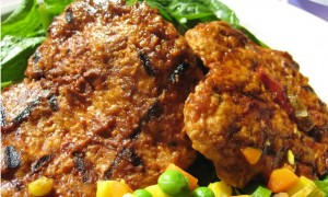 Barbecued Soy Chicken Cutlet