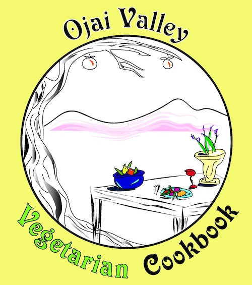 Ojai Valley Cookbook Cover - Sans by Randy Graham