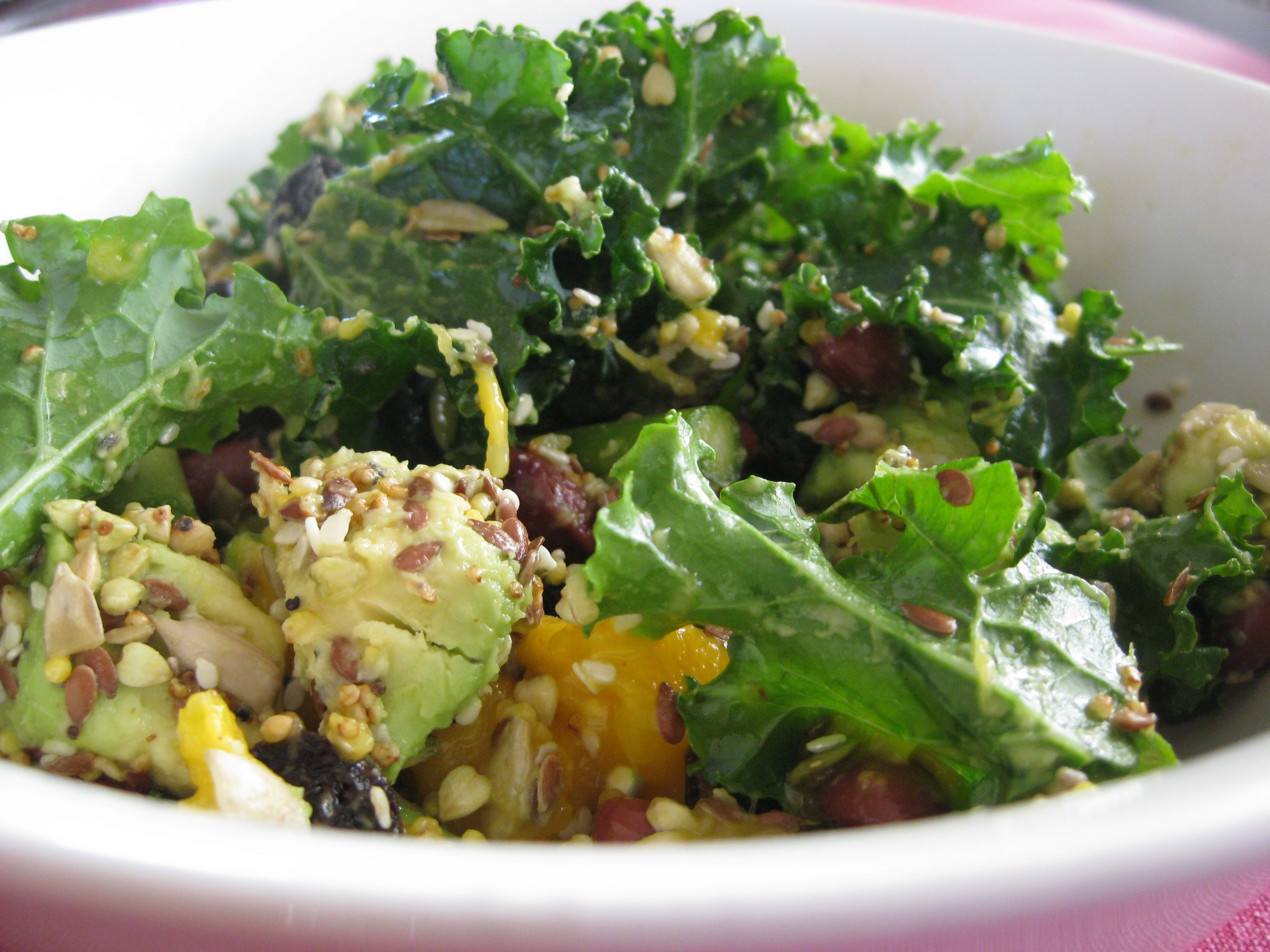 Meatless Mondays: Kale Salad