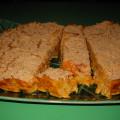 sweet potato and pumpkin polenta bake