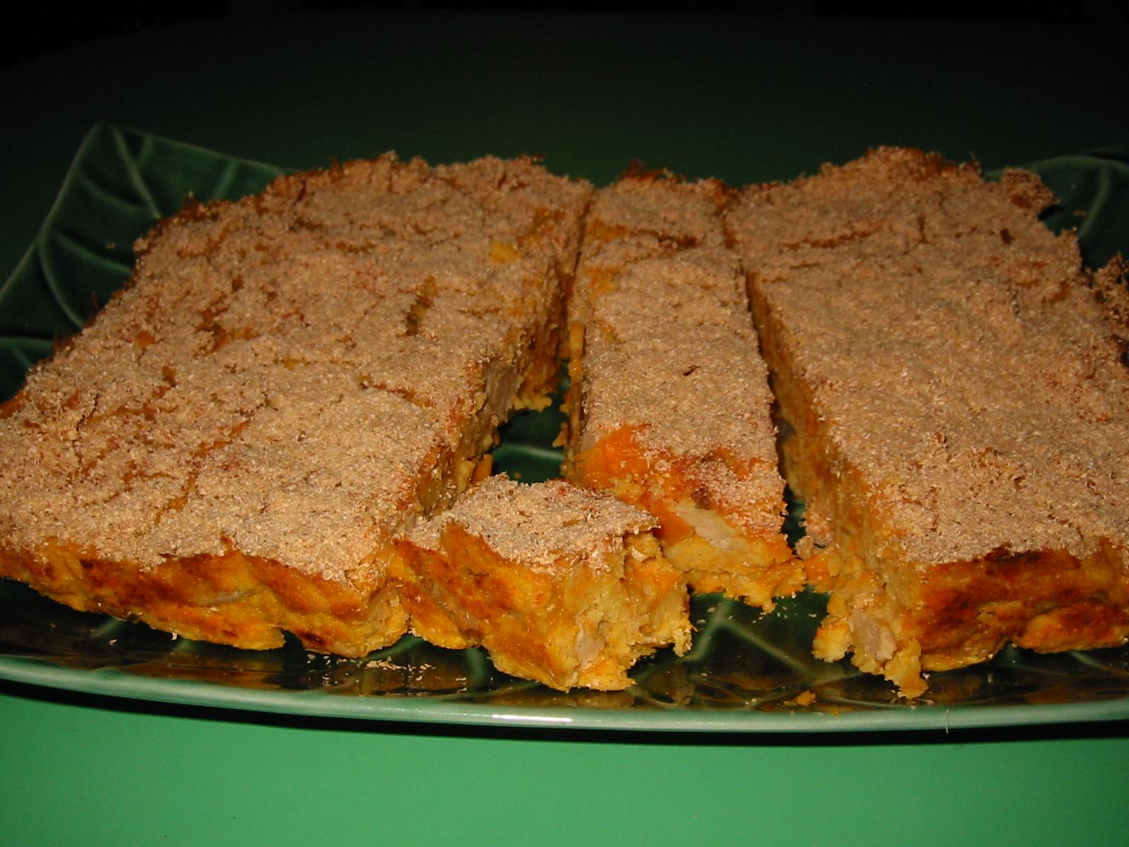 Meatless Mondays: Sweet Potato and Pumpkin Polenta Bake