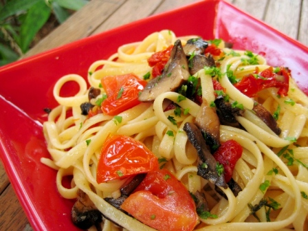 Olive oil vegetable pasta recipe