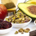 Variety of foods with Flavonoids