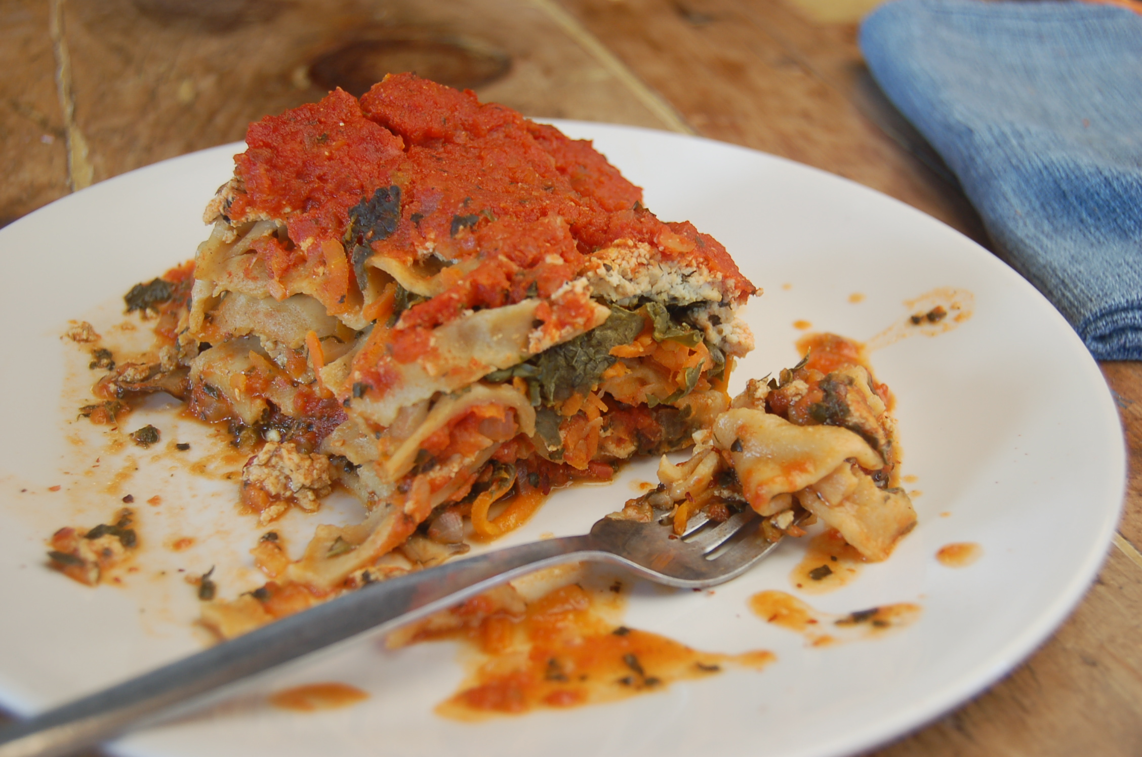 Slow Cooker Lasagna (vegan and full of veggies) - The ...
