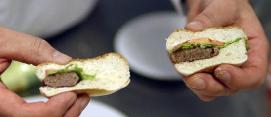Lab Grown Burger Bbc Lab-grown Burger to be Eaten
