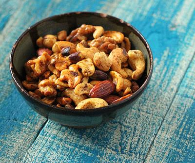 vegan gluten-free chana masala spiced roasted nuts