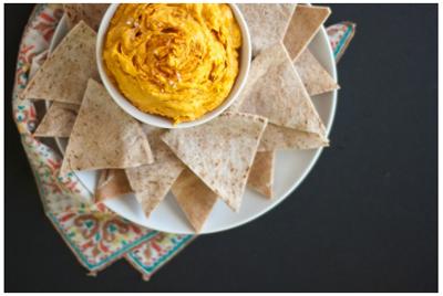 vegan sweet potato hummus recipe