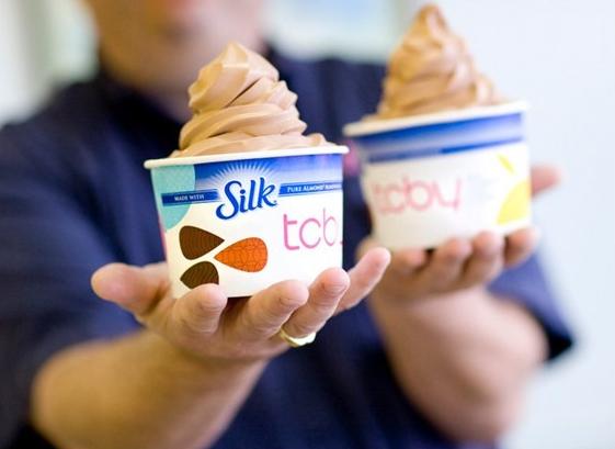 Tcby rolls out second vegan frozen yogurt flavor the veggie blog tcby silk chocolate almond publicscrutiny Choice Image