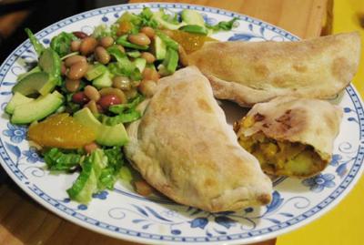 vegan Vegetable Samosas