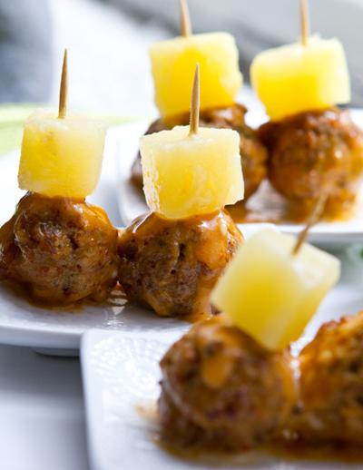 glazed-vegan-meatballs