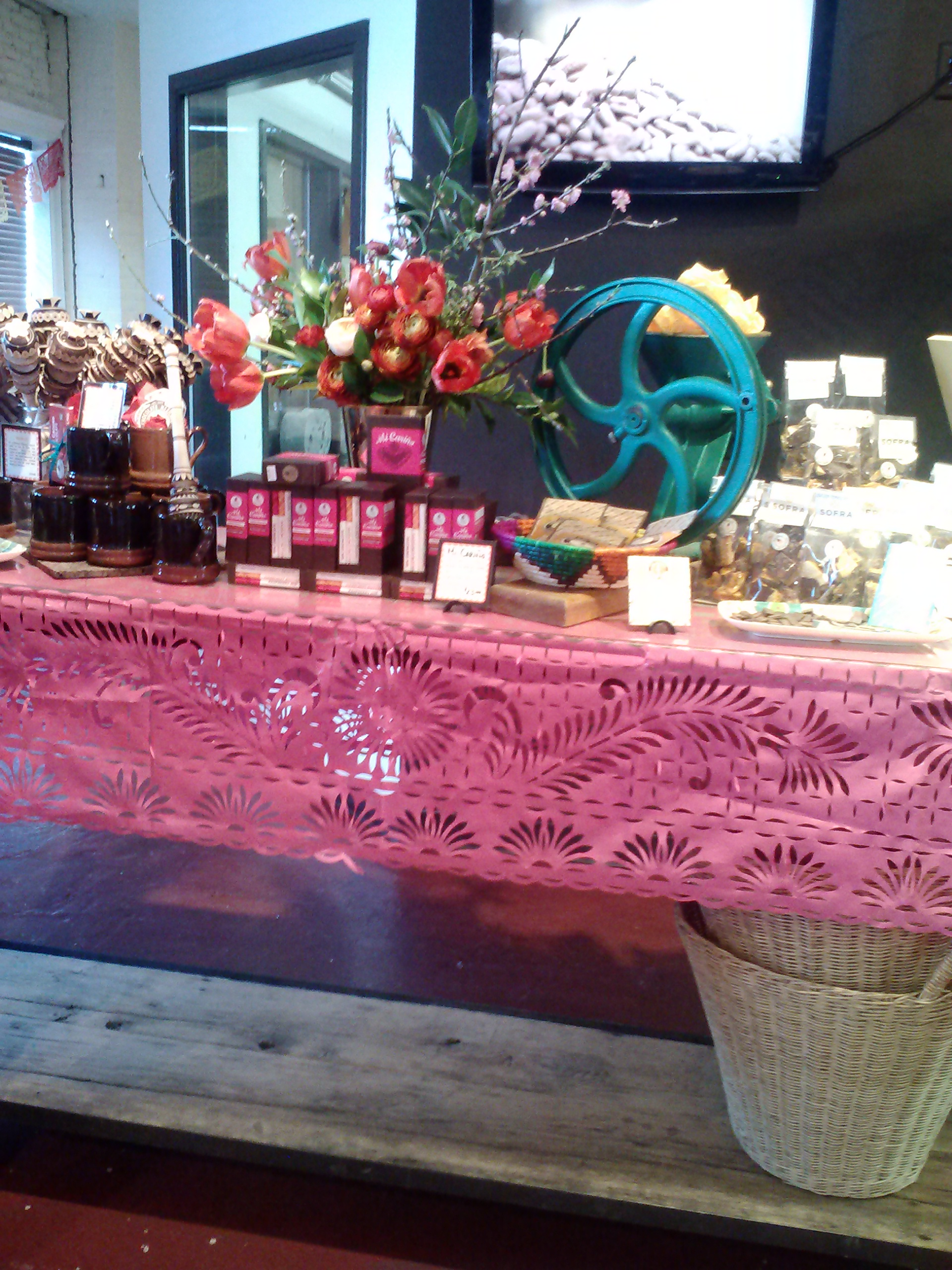 Valentine's Day Taza Chocolate Factory Tour - The Veggie Blog