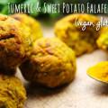 Tumeric & Sweet Potato Falafel Bakes – Vegan, Gluten-Free