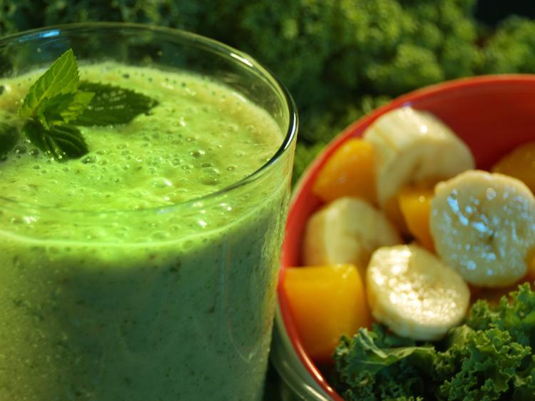 Exotic Tropical Green Smoothies