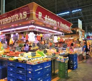 Boqueria Market vegan barcelona