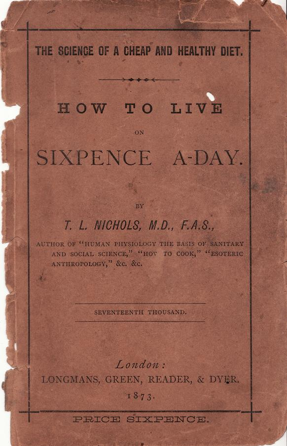 How to live on Sixpence a Day_0001