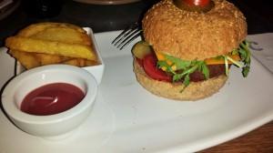 seitan burger vegan barcelona