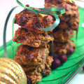 Healthy Vegan Chocolate Chunk, Walnut, Cranberry, Raisin Cookies