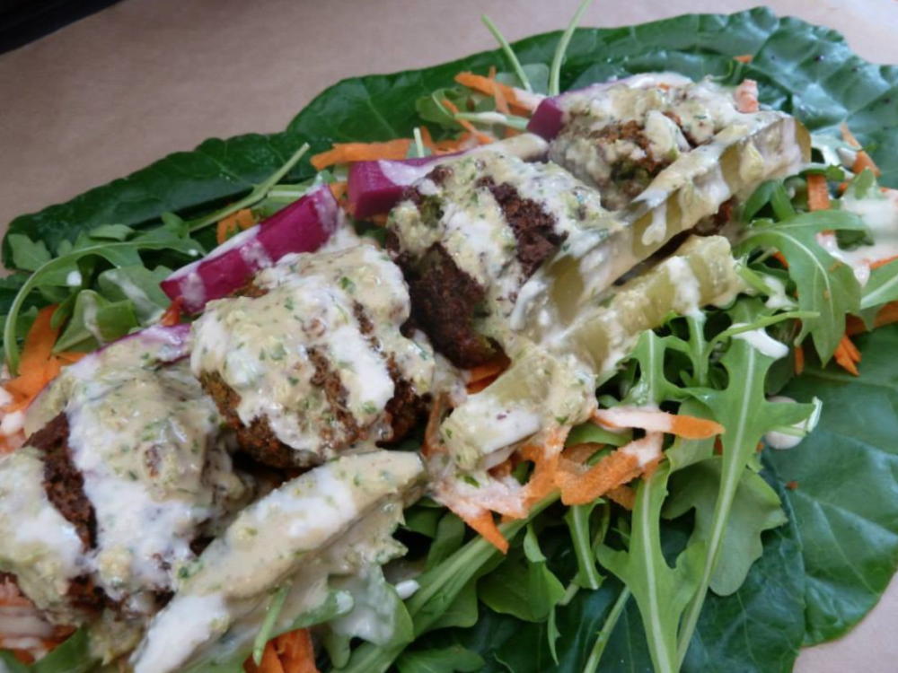 Crispy Delicious Flavorful Falafel Educator Amin Musa From Ihsan's Falafel