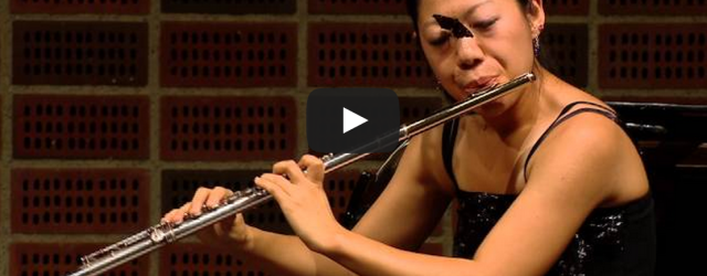 """Such a beautiful moment! """"A flutist competing at the Carl Nielsen International Flute Competition in Denmark keeps her cool when a butterfly lands on her face in the middle of […]"""