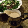 This gravy comes together in minutes, and is rich, creamy and delicious. It tastes great over mashed potatoes, sweet potatoes or grains. This is a great sauce to have on […]