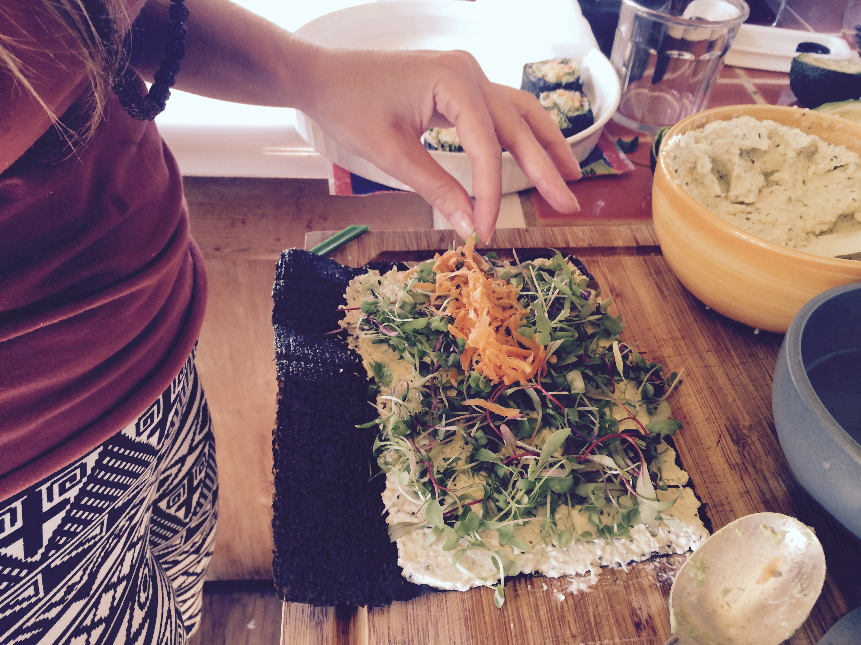 How To Master The Art Of Raw Vegan Sushi