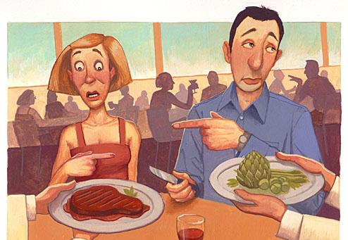 Vegetarian dating