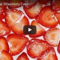 Vegan No-Bake Strawberry Cake