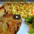 "This vegan fried chicken recipe from Brown Vegan is a total game changer! It looks amazing! And what she uses to mimic the chicken ""skin"" will surprise you:"