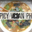 If you're looking for a simple, tasty lunch or dinner recipe that packs a little kick, this spicy vegan pho from Seriously Rooted Vegan will do the trick! PHO : […]