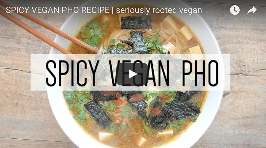 Spicy Vegan Pho