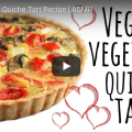 Simple Vegan Quiche Tart