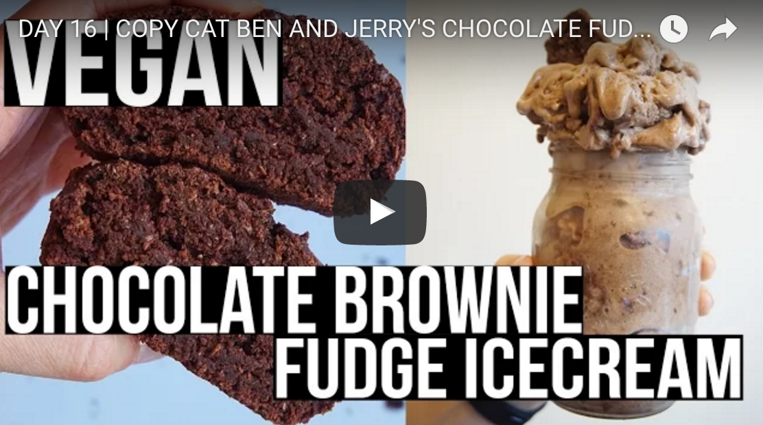 Copy Cat Ben And Jerry's Chocolate Fudge Brownie Ice Cream