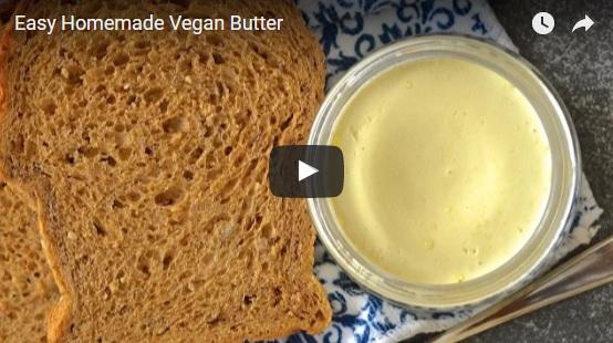 Easy Homemade Vegan Butter