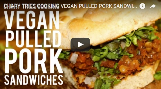 "Vegan ""Pulled Pork"" Sandwiches"