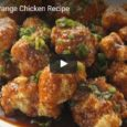 Here's a super healthy version of vegan orange chicken, by Powerootz! It's soy-free, gluten-free, with no refined sugars, and it's baked too! For the full recipe, click here.