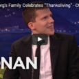 Thought provoking…… In a 2015 discussion with Conan O'Brien, actor Jesse Eisenberg talked about his family's compassionate Vegan Thanksgiving tradition, replete with tofu and appealing stories of animal abuse. They opt for […]
