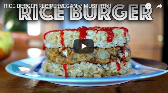 Vegan Rice Burger
