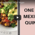 One Pot Vegan Mexican Quinoa