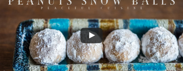 Here's a sweet and simple treat that uses only a few ingredients, but packs a lot of flavor! These peanut butter snow balls by Peaceful Cuisine are the perfect dessert, […]