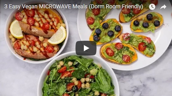 3 Easy Vegan Microwave Meals Dorm Room Friendly Hycow