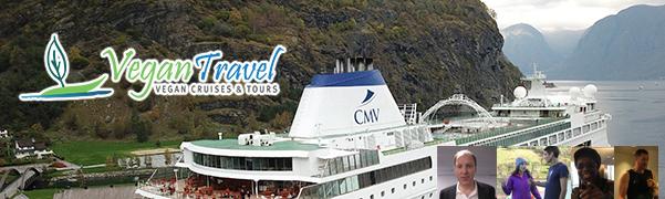 First All-Vegan Ocean Cruise Banner