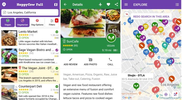 Healthy Dining Guide App