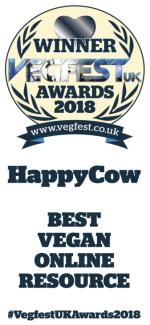 8ebea940a47218 Best Vegan Online Resource VegfestUK Awards 2018