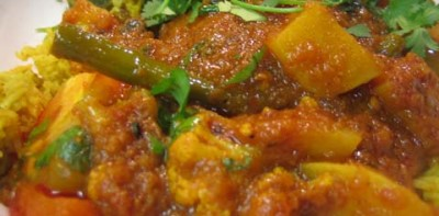 Avial Vegetable Curry