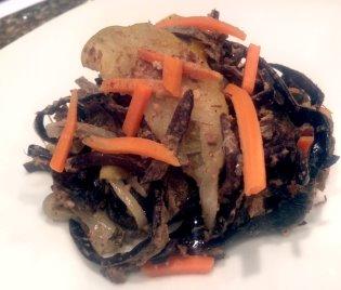 Spicy Black Mushroom Saute