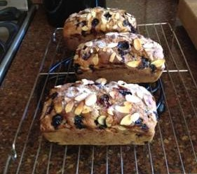 Vogue Blueberry Lemon Bread