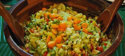 Cauliflower Salad with Golden Berries