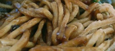 Cold Spicy Peanut Noodles
