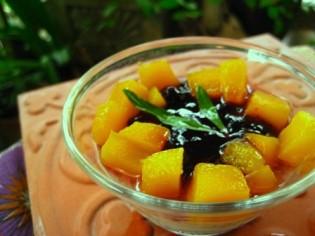 Fruit and Jam Custard