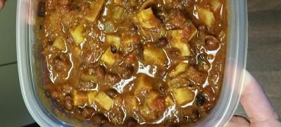 Garlic Black Bean Chili